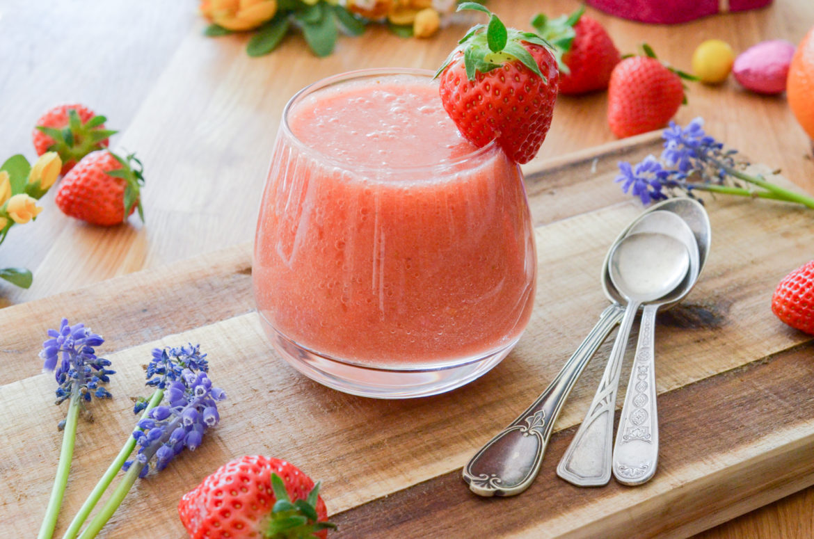 Recette Smoothie Fraise 2