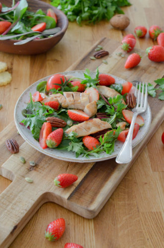 Recette Salade Lapin Fraise 6
