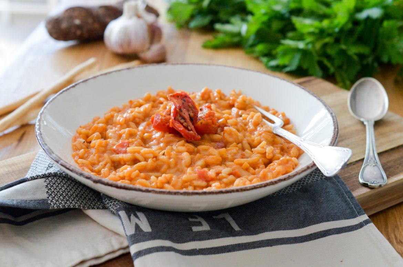 Recette Risotto Tomate Vegan 2