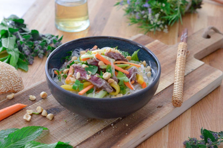 Recette Salade Boeuf Thai 3