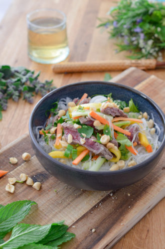 Recette Salade Boeuf Thai 6