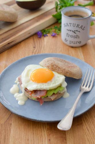 Recette Egg Muffin Bacon Franprix 2