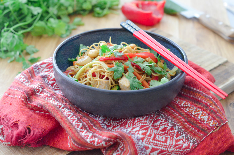Recette Pad Tahi Vegan Tofu