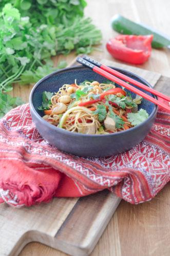 Recette Pad Tahi Vegan Tofu 4