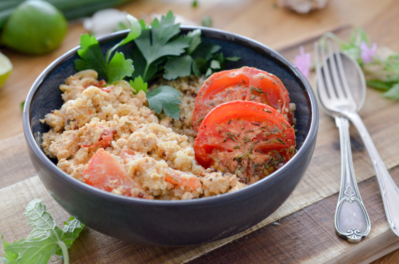 Recette Tofu Brouille Tomate 8