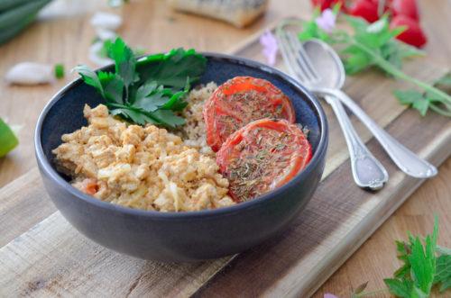 Recette Tofu Brouille Vegan