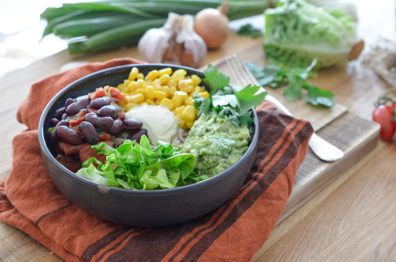 Recette Vegan Burrito Bowl 15