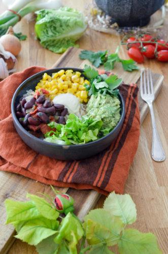 Recette Vegan Burrito Bowl 6