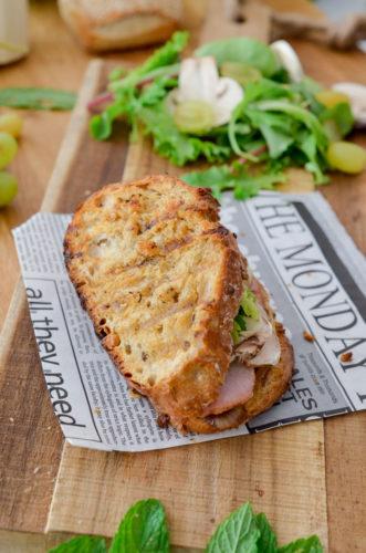 Recettes Grilled Sandwich Dinde