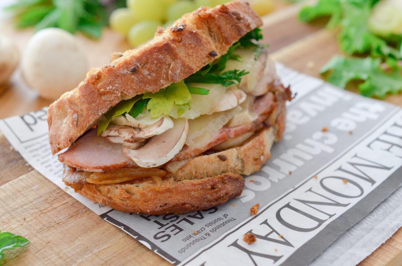 Recettes Grilled Sandwich Dinde 4