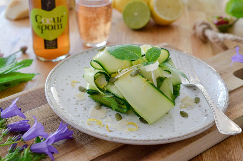 Recettes Salade Courgettes Citron Parmesan Coeur De Pom 12