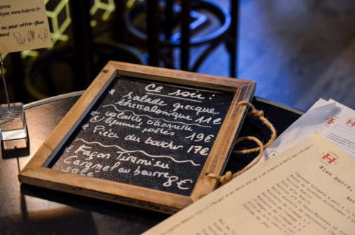 Restaurant Hubris Paris 8
