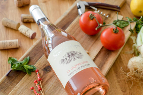 Vin Rose Grignan Serre De Vignes