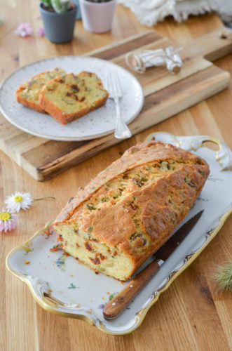 Recette Cake Olive Tomate Courge 4