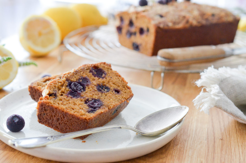 Recette Cake Citron Myrtille 3