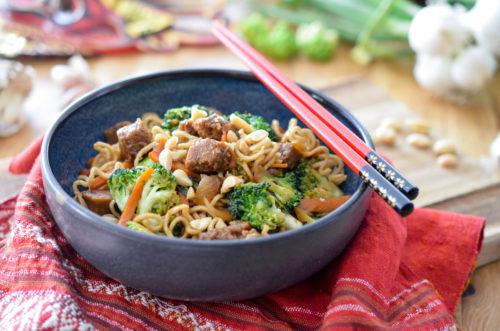 Recette Pad Thai Vegan 3