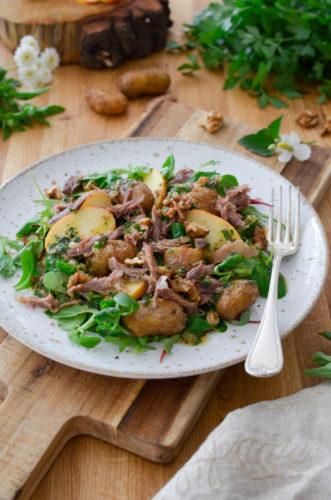 Recette Salade Confit Canard Picard 6