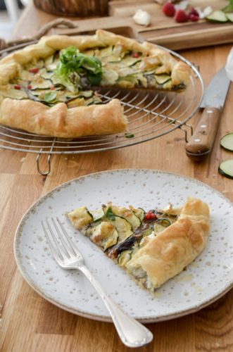 Recette Tarte Courgette Camembert 11
