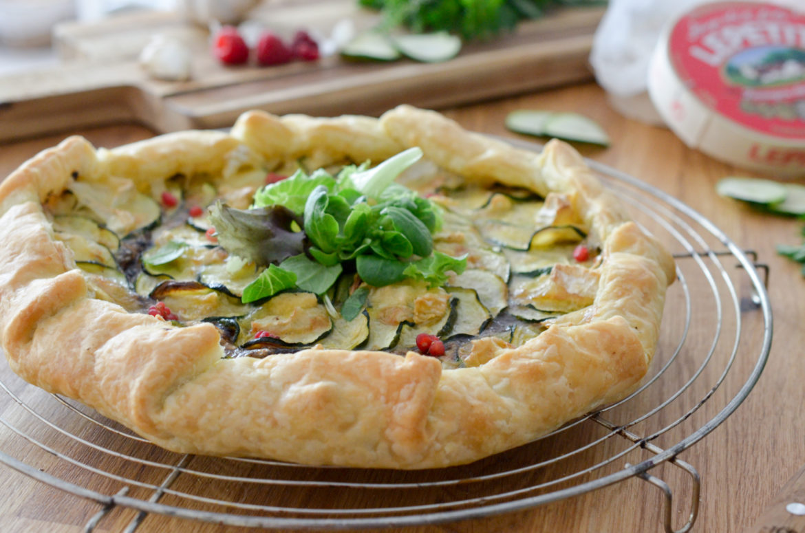 Recette Tarte Courgette Camembert 4