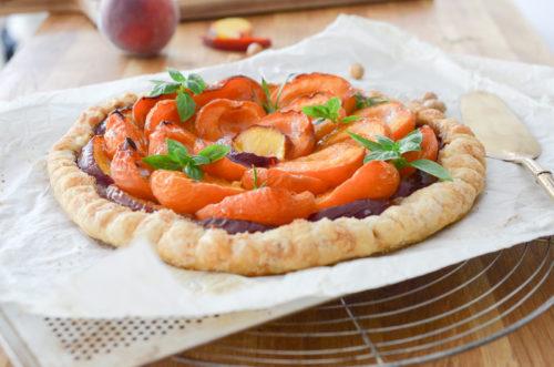 Recette Tarte Abricots
