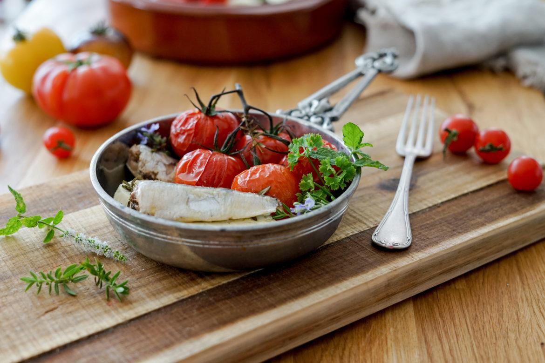 Recette Tomates Feta Sardines Connetable 8