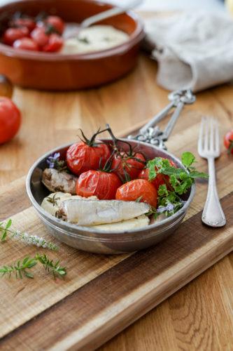 Recette Tomates Feta Sardines Connetable 9