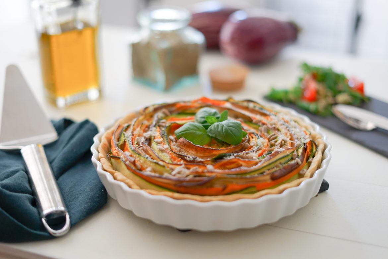 Recette Tarte Fleur Legumes