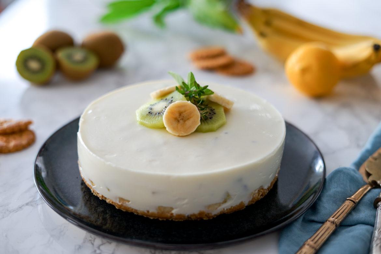 Recette Cheesecake Yaourt Banane Kiwi Mon Avis 4