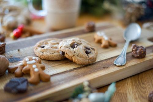 Omm Lait Poule Biscuits Noel