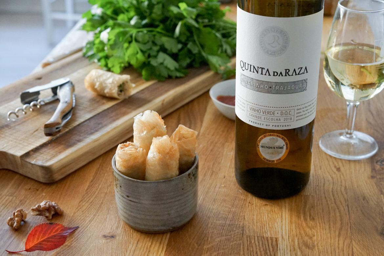 Recette Cigares Sardines Vinho Verde 8