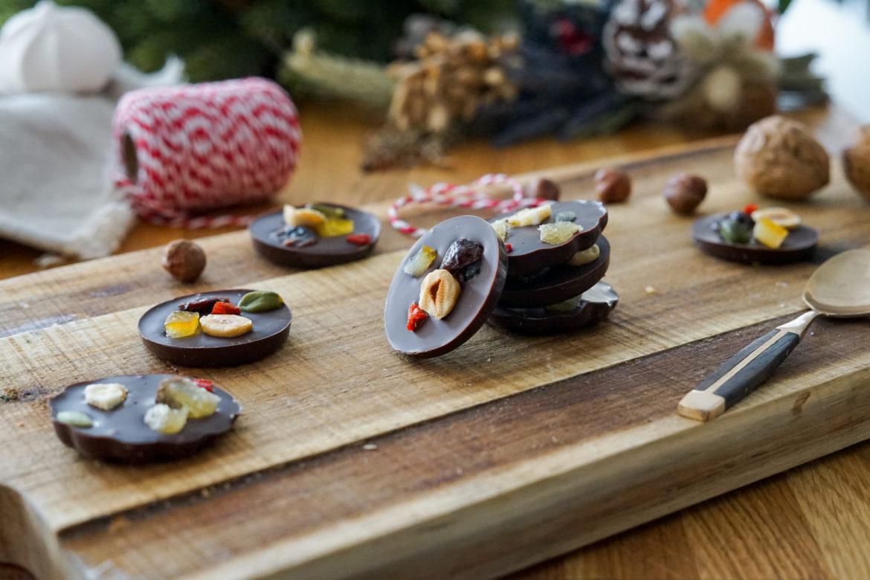 Recette Mendiants Chocolat 3