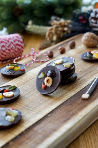 Recette Mendiants Chocolat 4