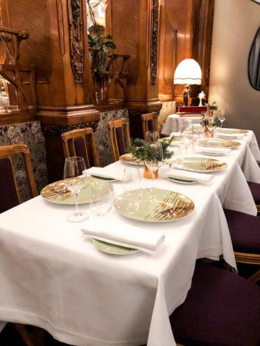 Diner Pommery Lucas Carton