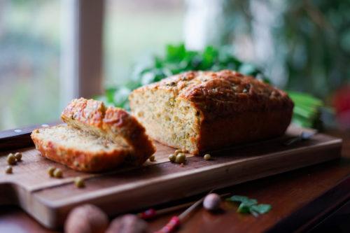 Recette Cake Thon Petits Pois Daucy Conversion Bio 12