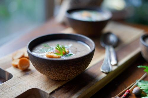 Recette Soupe Champignons