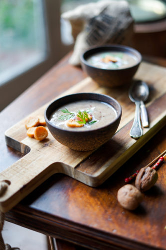 Recette Soupe Champignons 9