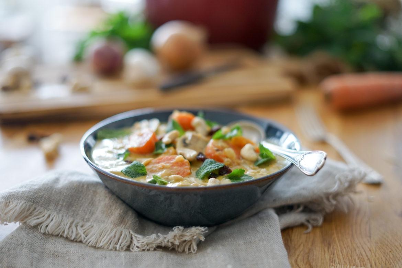 Recette Curry Vegetarien 9
