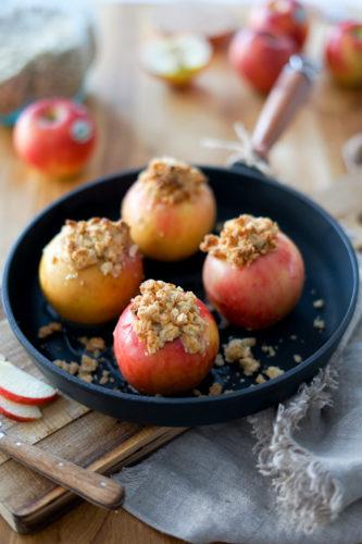 Recette Pomme Rotie Crumble Antares 6