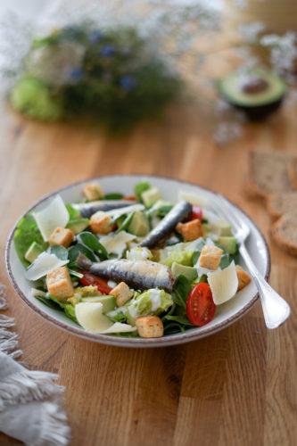 Connetable Salade Caesar Sardines Echalotes 5