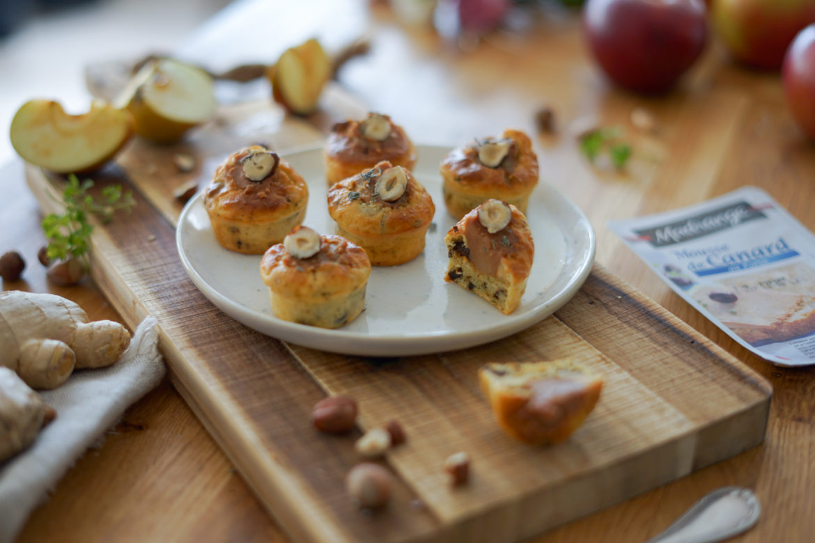 Recette Muffin Pruneaux Mousse Canard Madrange 5