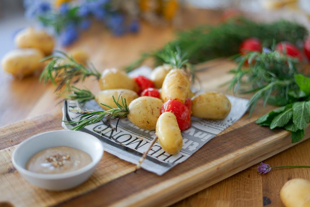 Recette Brochettes Pomme De Terre De Primeur