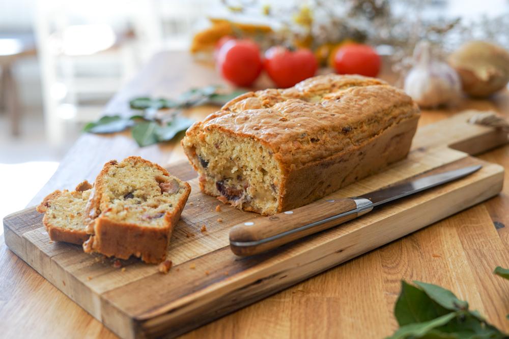 Recette Cake Figue Chevre Lardons 10