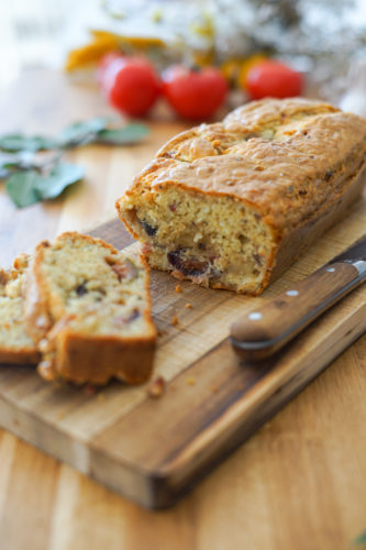 Recette Cake Figue Chevre Lardons 7