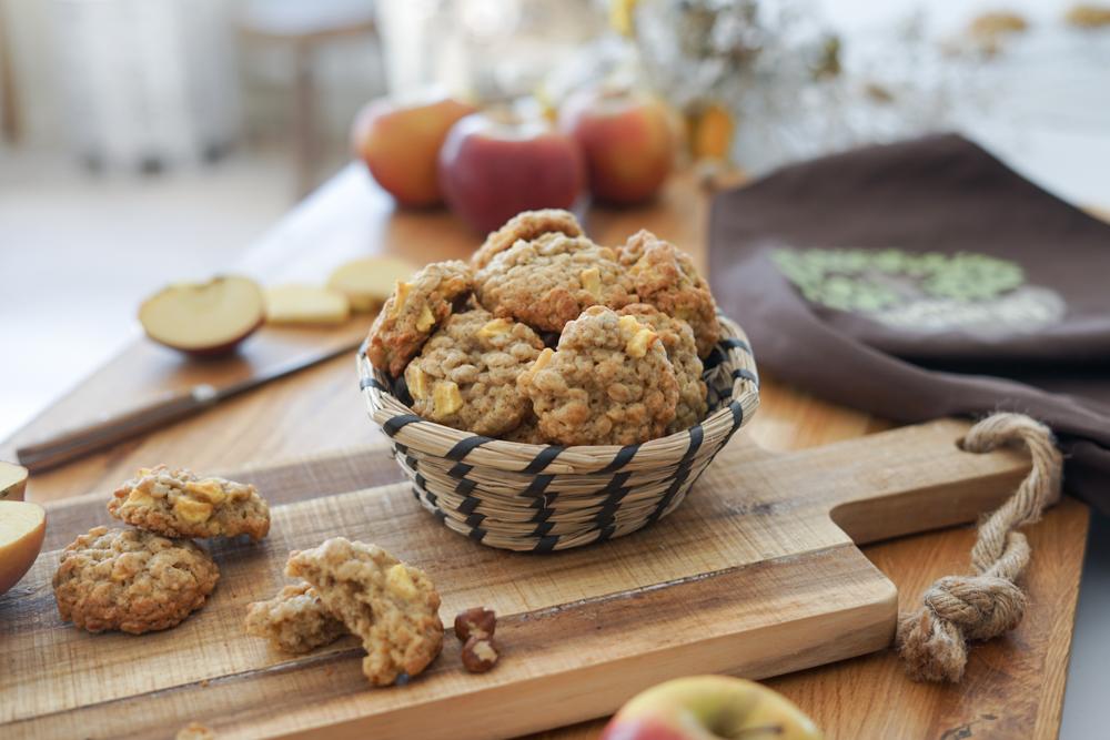 Recette Cookies Pomme Avoine Vib 6