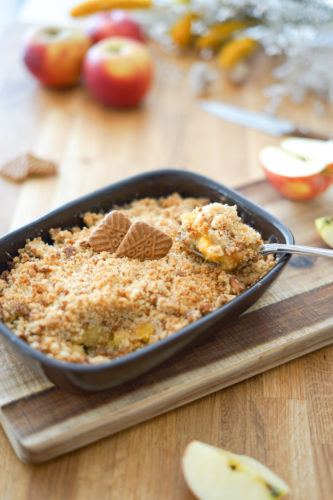 Recette Crumble Pomme Speculoos 11