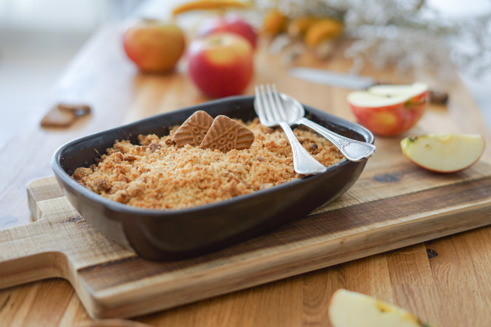 Recette Crumble Pomme Speculoos