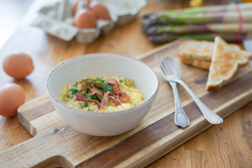 Recette Oeuf Brouilles Asperges New