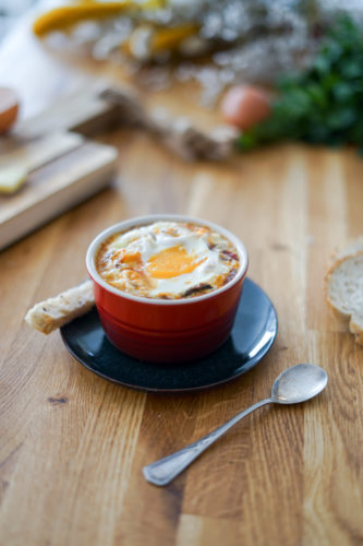 Recette Oeuf Cocotte Fromage Ratatouille 6
