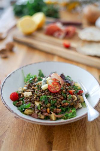 Recette Salade Lentilles 10