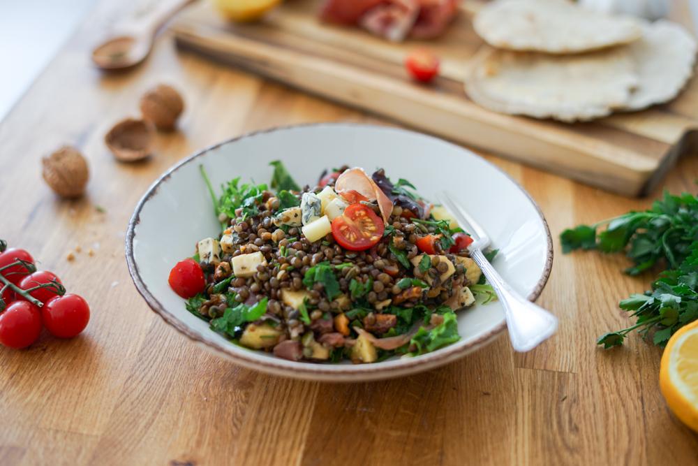 Recette Salade Lentilles 5